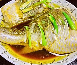 #换着花样吃早餐#清蒸黄花鱼的做法