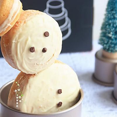 甜蜜巧克力雪人蛋糕