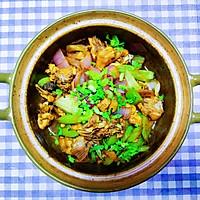 #下饭红烧菜#肉嫩味足家常版鸡公煲的做法图解8