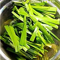 养生菜:虾皮韭菜的做法图解2