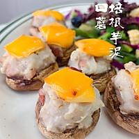 芝士培根芋泥烤口蘑—快手小食系列的做法图解22