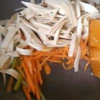 大喜大牛肉粉试用之✘爆炒素三丝的做法图解5