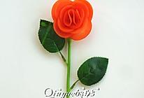 胡萝卜玫瑰花的做法