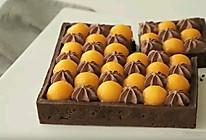 芒果巧克力挞的做法