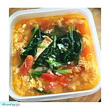 鸡蛋菠菜汤