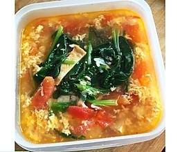 鸡蛋菠菜汤的做法