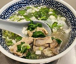 砂锅羊肉汤的做法