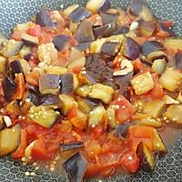 蒜柿辣酱焖茄子的做法图解5
