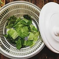 三文鱼蔬果沙拉的做法图解5