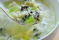 海参蛋花汤的做法