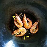 娃娃菜炒大虾的做法图解2
