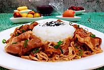 #合理膳食 营养健康进家庭#洋葱金针菇肥牛饭的做法