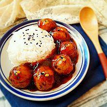 糖醋藕圆盖饭(素食无油健康版)#豆果6周年生日快乐#