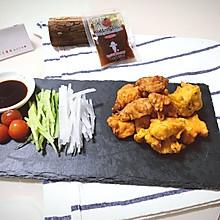 深夜食堂の日式炸鸡块#丘比沙拉汁#
