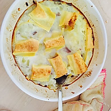鸡蛋芝士烤土豆泥