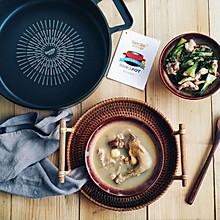白鸽绿豆汤