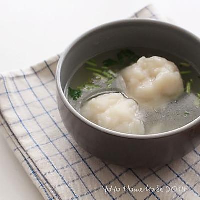 巴沙鱼圆汤