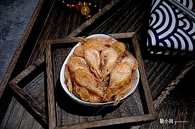 外酥里嫩煎海虾#做道好菜,自我宠爱!#