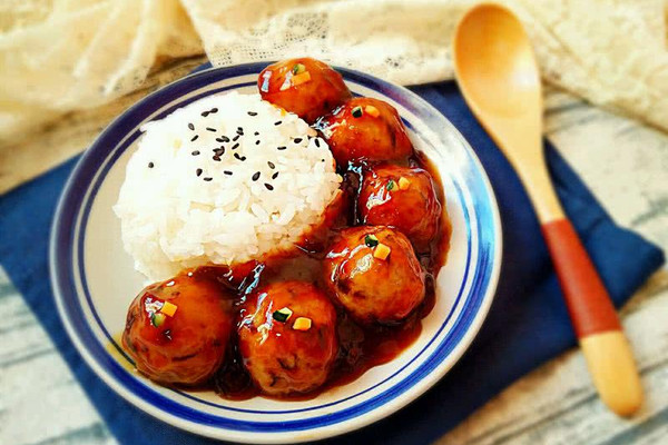 糖醋藕圆盖饭(素食无油健康版)#豆果6周年生日快乐#的做法