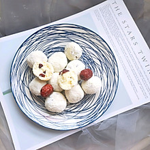 #520,美食撩动TA的心!#奶香十足的宝宝辅食~酸奶球