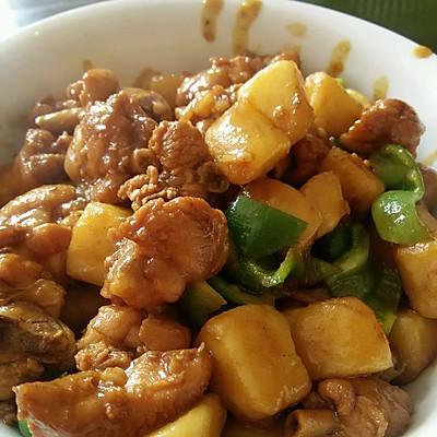 五香鸡肉土豆