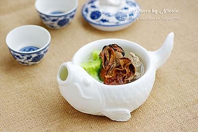 清热排毒的蚝豉瘦肉凉瓜汤