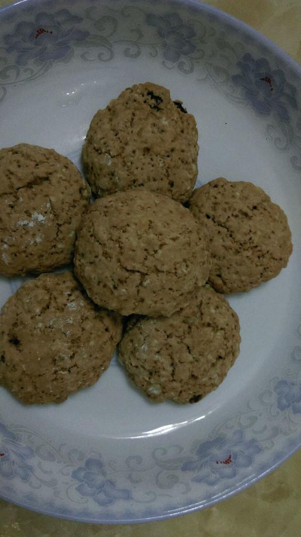 燕麦蔓越莓干甜饼的做法