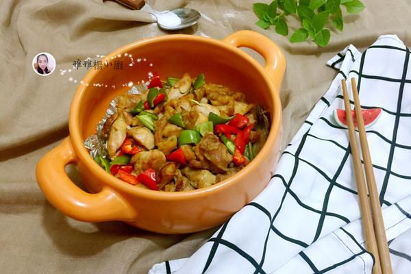 椒盐焗鸡肉的做法