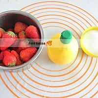 自制草莓酱的做法图解1