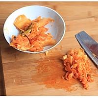 芝士泡菜焗年糕的做法图解2