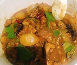 秘制黄焖鸡,辣辣的超好吃的做法