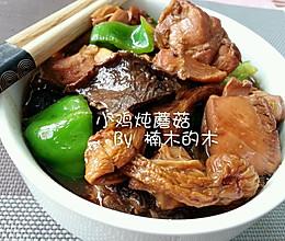 小鸡炖蘑菇+松茸~美味的做法