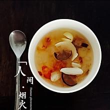 桃胶皂角米糖水