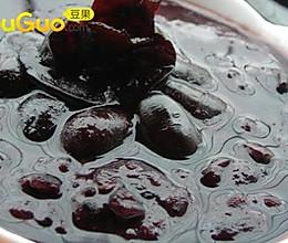 一点健康的黑:最黑的粥的做法