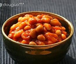 番茄黄豆的做法