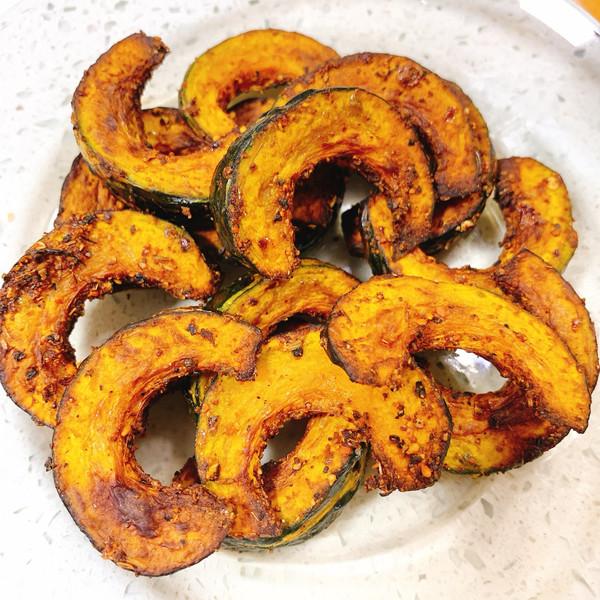低脂减肥小零食~烤贝贝南瓜的做法