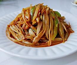 酒酱蒜辣白芸豆的做法