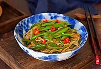 芸豆肉丝炒面#春天肉菜这样吃#的做法