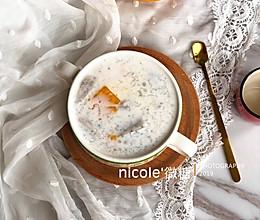 夏日滋補甜品椰汁雜果西米雪燕羹的做法