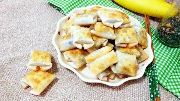 香蕉芝麻酥的做法