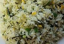 雪菜蛋炒饭的做法