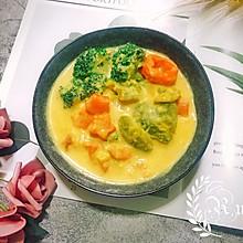 颜值不高营养丰富豆浆炖菜#快手又营养,我家的冬日必备菜品#