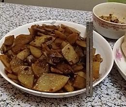 土豆肉片的做法