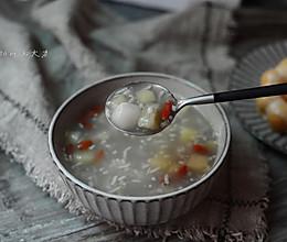 酒酿丸子水果羹#美的养生壶#的做法