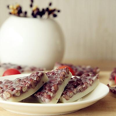 蜜红豆和果子-水无月(水無月)