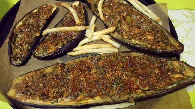 乐乐自家菜--烤茄子的做法