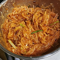 Illustration of Homemade Spicy Cabbage (Kimchi) 11