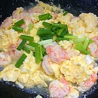 葱香虾仁炒鸡蛋 一口便爱上这鲜美细嫩的做法图解9