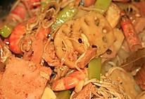 家庭版麻辣香锅——香料遇到菜料的做法