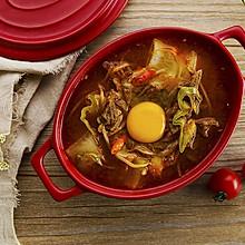 韩式辣牛肉汤|太阳猫早餐
